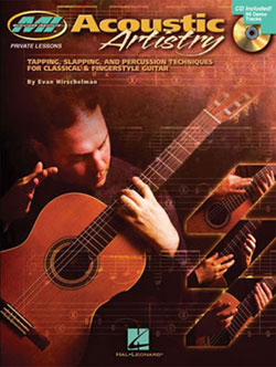 Acoustic Artistry: Tapping, Slapping, and Percussion Techniques for Classical & Fingerstyle Guitar
