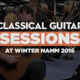 Live performance for Classical Guitar Magazine at NAMM show (with video)