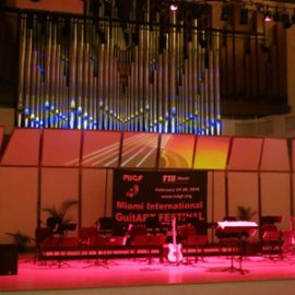 Concert at Miami International Guitart Festival